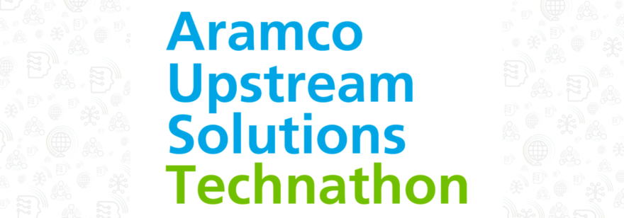 Баннер технатлона Aramco Upstream Solutions Technatlon