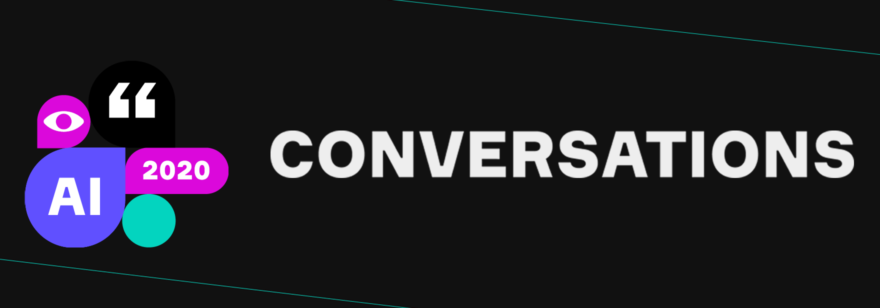 Баннер конференции AI Conversations 2020