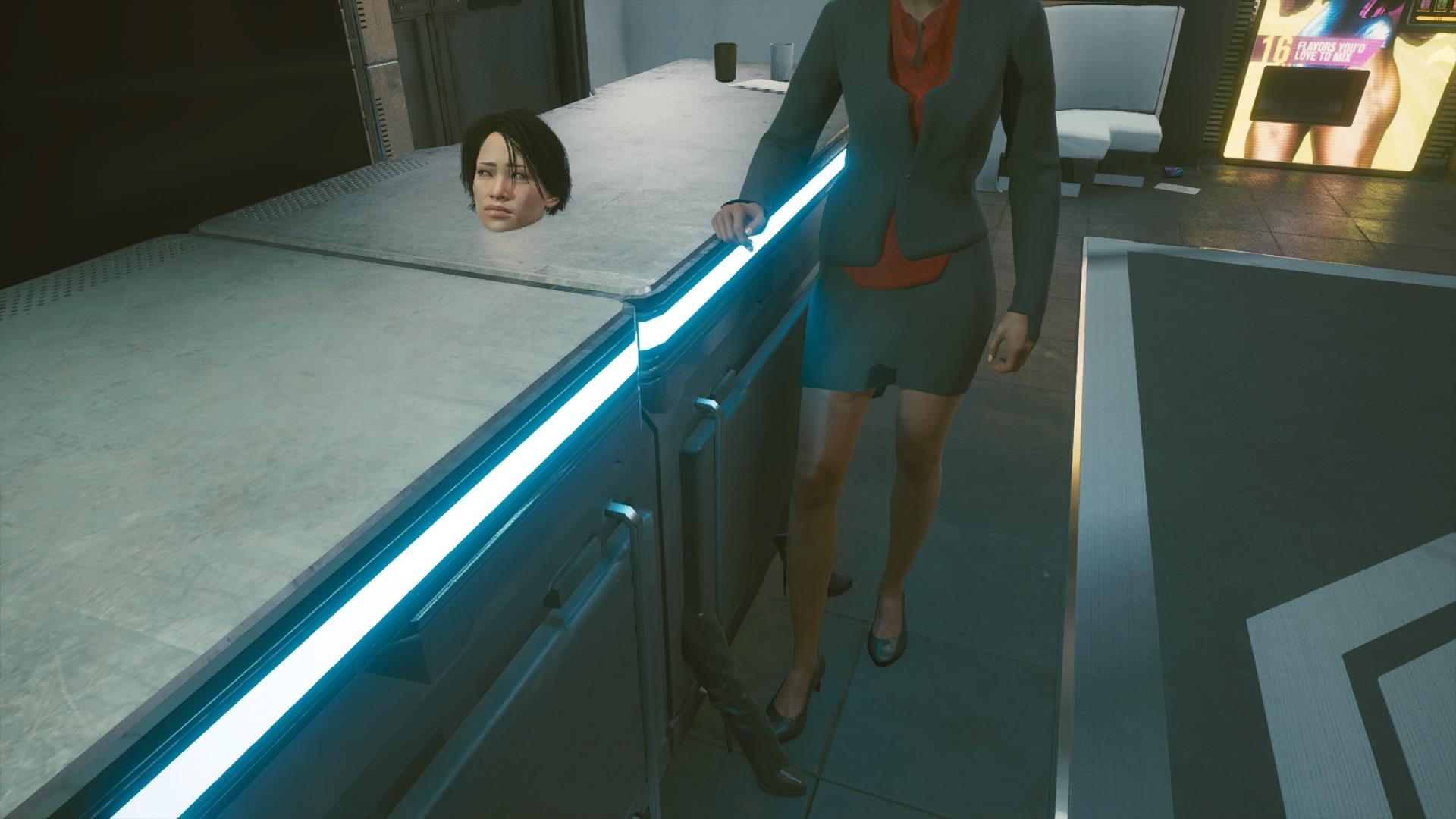 Баг в Cyberpunk 2077