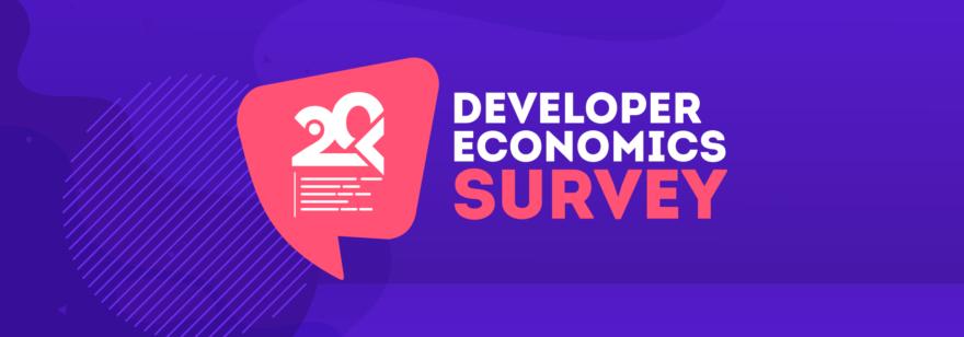 Обложка: Опрос Developer Economics Survey 20