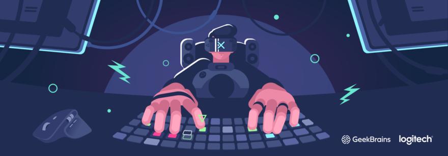 Обложка: Курс по веб-разработке от Logitech и GeekBrains