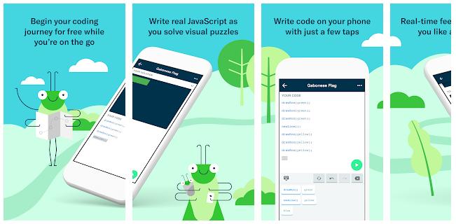 Grasshopper — мобильное приложение для изучения программирования от Google