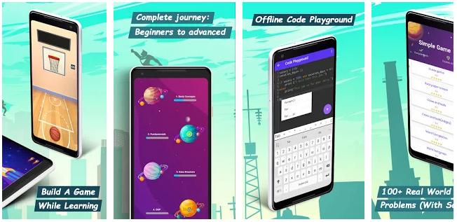 Programming Hero — мобильное приложение для изучения программирования