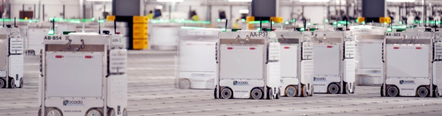 Обложка: Британская компания Ocado строит автоматизированные склады. Это круче Amazon — посмотрите сами