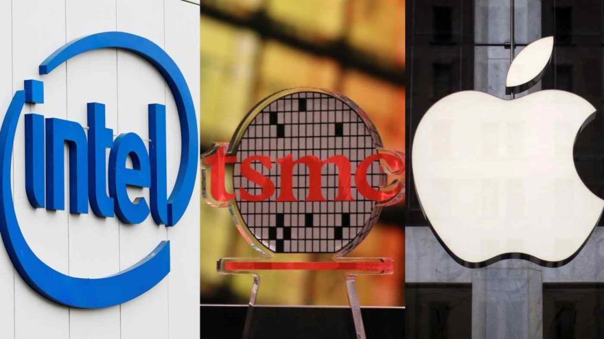 Обложка: Apple и Intel в следующем году переходят на суперсоверменные 3-нм чипы