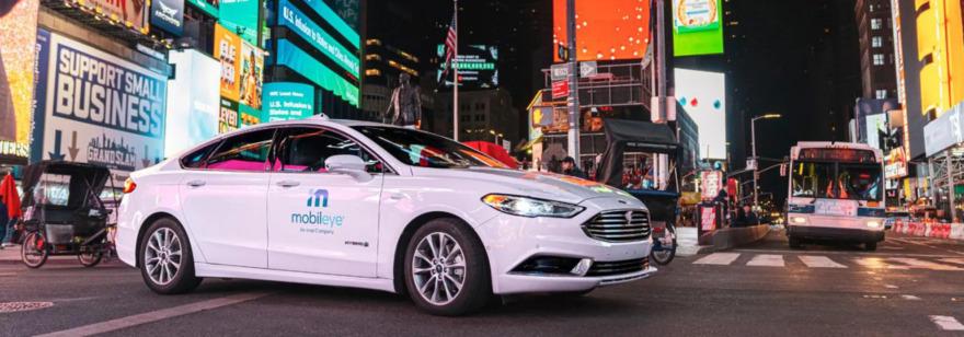 Обложка: Mobileye получила разрешение на тестирование автопилотных автомобилей в Нью-Йорке. Посмотрите, как они ездят по городу