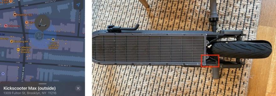 Обложка: Спрятанные метки AirTag помогли вернуть украденный электросамокат