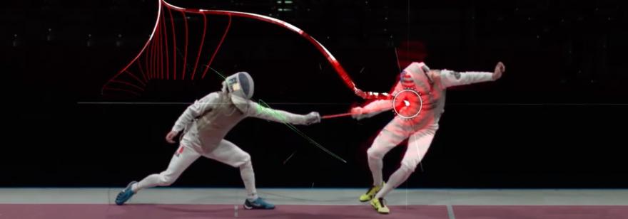 Обложка: В Японии к Олимпийским Играм разработали систему визуализации фехтования. Благодаря ИИ и AR зрители видят движение меча, которое невозможно отследить глазом