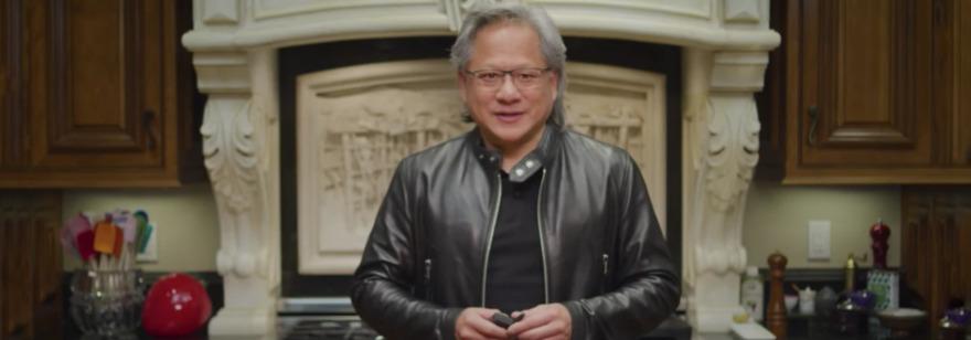 Обложка: На презентации NVIDIA вместо генерального директора компании выступил его цифровой клон. Компьютерного персонажа сделали с помощью ИИ