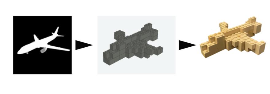 Обложка: В MIT разработали нейросеть Image2Lego. Она превращает 2D-картинки в 3D-модели из конструктора LEGO